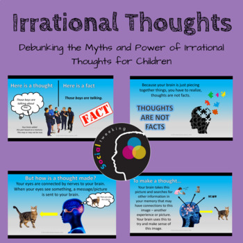 Understanding Thoughts; Cognitive Behavioral Therapy, CBT, Irrational Thoughts
