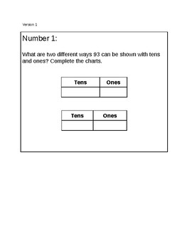 Understanding Three Digit Numbers Task Cards