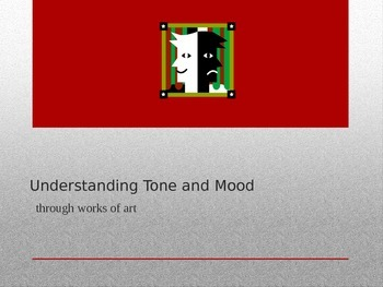 Understanding Tone and Mood
