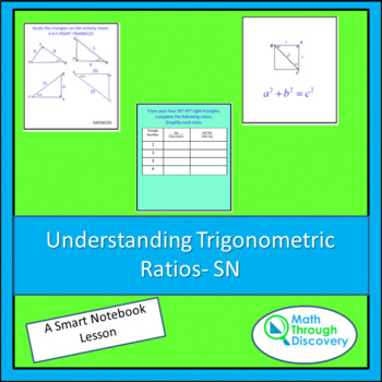 Discovering Trig Ratios Worksheets Teaching Resources TpT