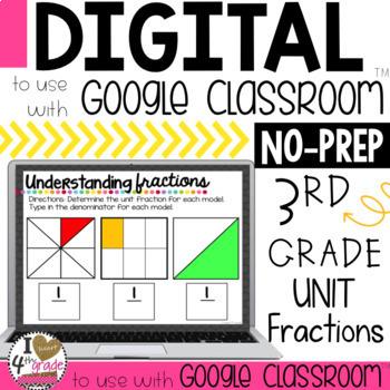 Understanding Unit Fractions for Google Classroom