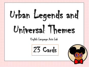 Understanding Universal Themes in Urban Legends