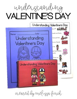 Understanding Valentine's Day- Social Story for Students with Special Needs