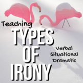 Verbal, Situational, and Dramatic Irony {FREE}   GOOGLE - DISTANCE LEARNING
