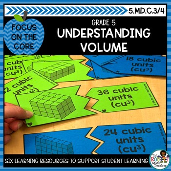Understanding Volume of Rectangular Prisms- Math Center Activity and Printables