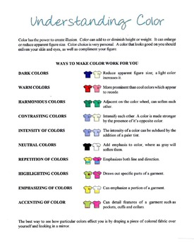 Understanding What Color Looks Good On You Lesson