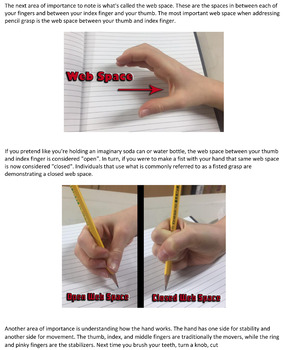 Understanding When to Fix a Pencil Grasp!