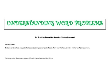 Understanding Word Problems