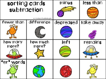 Understanding Word Problems: Addition and Subtraction Key Words Unit