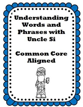Understanding Words and Phrases