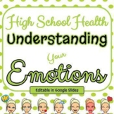 Understanding Your Emotions - Mental Health - Editable in