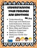Understanding Your Feelings and Emotions Health Lesson & Activities