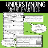 Understanding Your Paycheck Worksheet