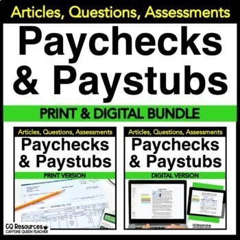 Understanding a Paycheck and Pay Stub