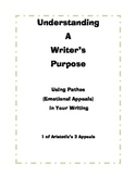 Understanding a Writer's Purpose - Using PATHOS (Emotional