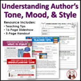 Authors Mood Tone and Style