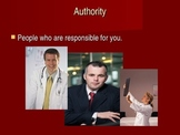 Understanding and Accepting Authority