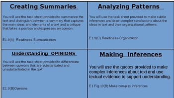 Understanding and Analyzing Genre Station-STAAR English 1