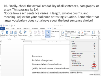 Understanding and Using Readability Levels
