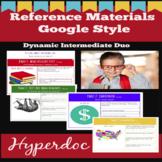 Atlas, Encyclopedia, Dictionary, and Thesaurus- Interactive Hyperdoc