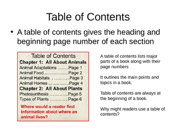 Understanding and Using Text Features