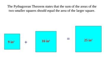 The Pythagorean Theorem: Understanding & Using the Pythagorean Thm.