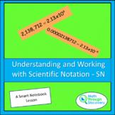 Algebra 1 - Understanding and Working with Scientific Nota