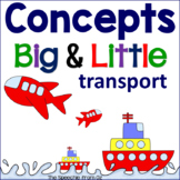 Basic concepts for speech therapy big and little