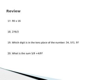 Understanding decimals powerpoint