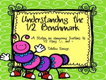Understanding the 1/2 Benchmark-  4.NF.2-comparing fractio