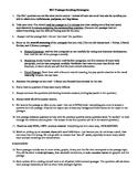 Understanding the NEW SAT: Helpful Handouts For Your Stude