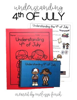 Understanding the 4th of July- Social Story for Students with Special Needs