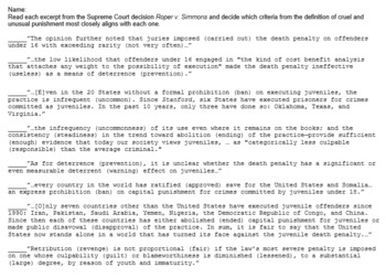 Understanding the 8th Amendment