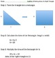 Understanding the Area of a Right Triangle