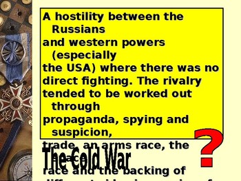 Understanding the Cold War Quiz
