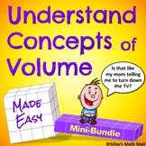 Understanding Concepts of Volume - Mini-Bundle