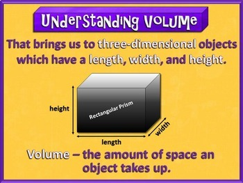 Understand Concepts of Volume (PowerPoint Only)
