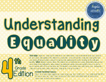 Understanding the Equal Sign-