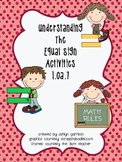 Understanding the Equal Sign Activity Pack Common Core 1.OA.7