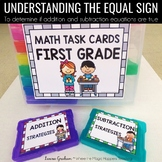 Understanding the Equal Sign Task Cards ~ 1.OA.D.7