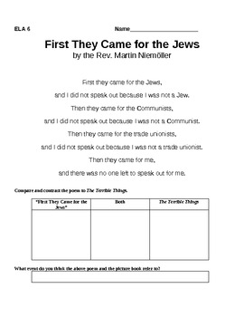 Understanding the Holocaust Using a Picture Book