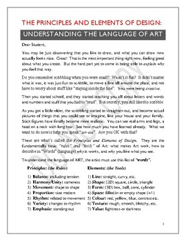 The Principles and Elements of Design: Understanding the Language of Art