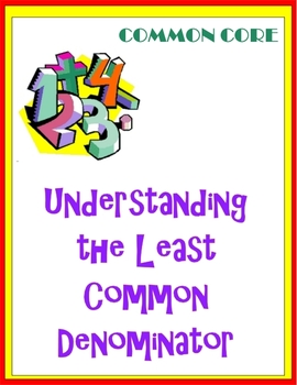 Understanding the Least Common Denominator