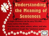 #backtoschool Understanding the Meaning of Sentences