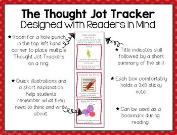 Reading Response: Understanding the Moral - A Comprehension Sticky Note Tracker