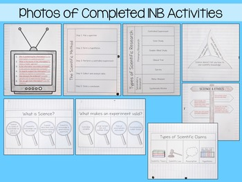 Understanding the Nature of Science Interactive Notebook Unit