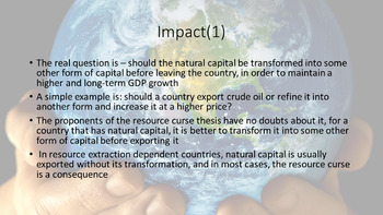 Understanding the Relevance of Human and Natural Capital