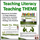 Theme Reading Strategy Presentation Activity