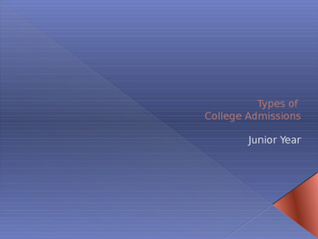 Understanding the Types of College Admissions