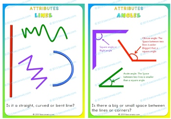 Understanding the role of attributes (Space and Shape)